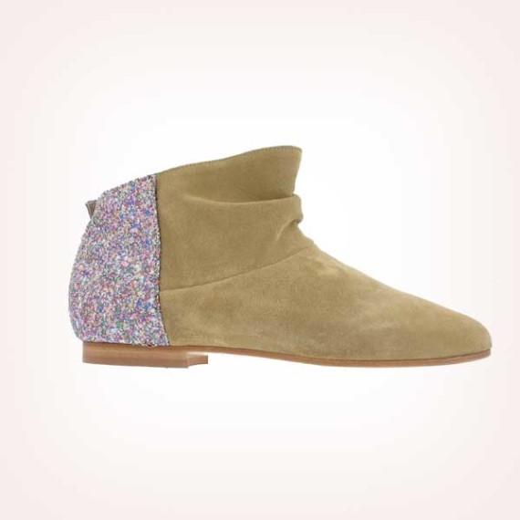 "Anniel ♡ WOMEN ""CAMLA"" Contrast Boots"