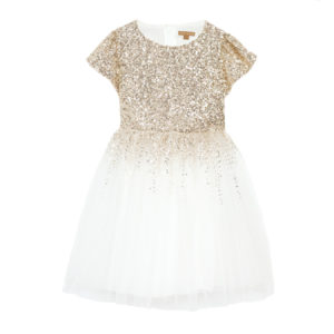 DEGAS DRESS GOLD