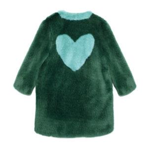 LOVE COAT GREEN BACK