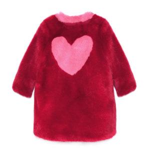 LOVE COAT RED BACK
