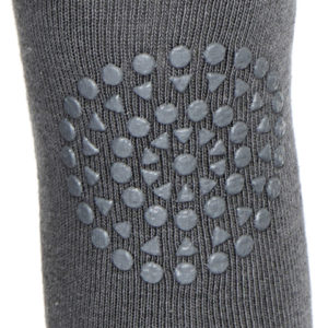 GoBabyGo Tights Dark Grey_Close Up knee