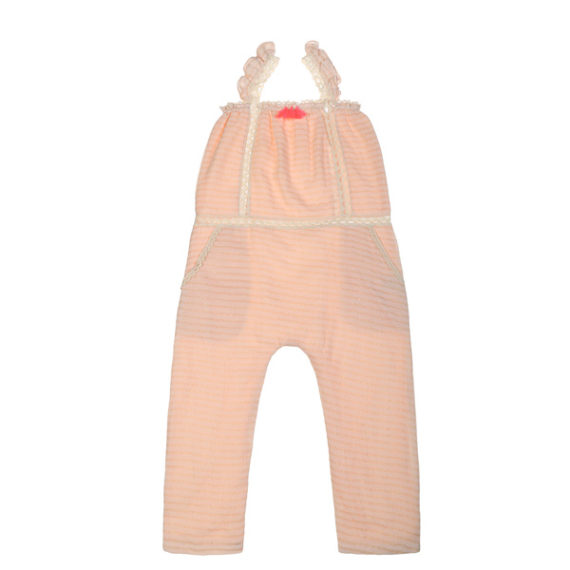 Louise Misha ♡ BABY & GIRL Jumpsuit Lurex Nude
