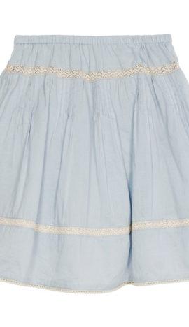 Wild & Gorgeous ♡ Margot Skirt Eisblau