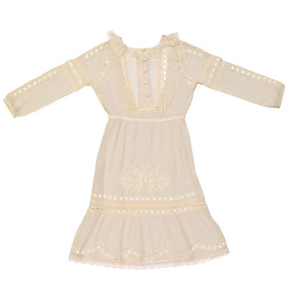 Milapinou ♡ GIRL Anita Dress Vintagestyle rückenfrei light Rose