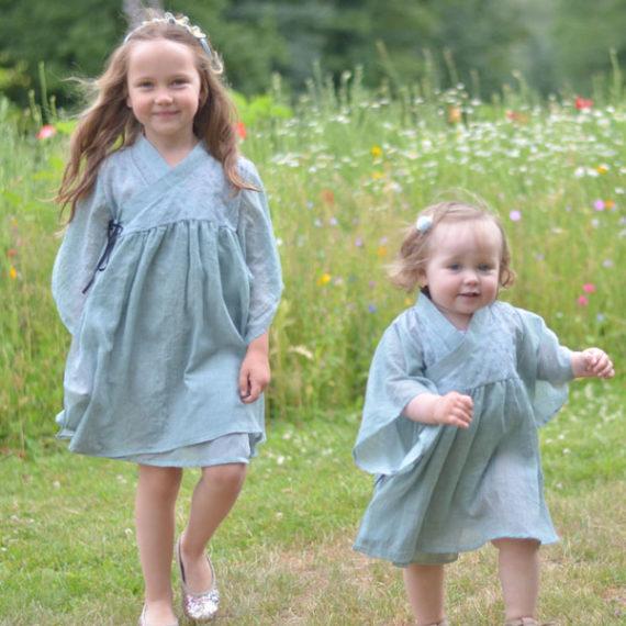Belle Chiara ♡ Kimono Dress Blue♡Sky