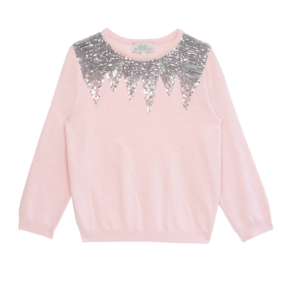 WILD & GORGEOUS ♡ Sequin Solstice Jumper Shell Pink
